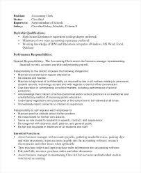 Job Description For File Clerk Lovely Logistics Clerk Job