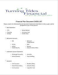 Worksheets - Turning Tides Financial
