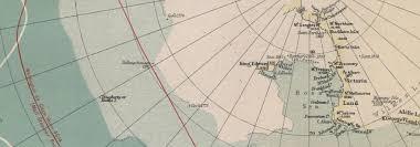 Polar Routes Charts Polar Regions Arctic Antarctic Sea Chart Steamer Routes