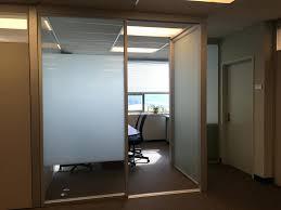 office separator. Sliding Door Dividers Doors Custom Modern Glass Office Room Separator