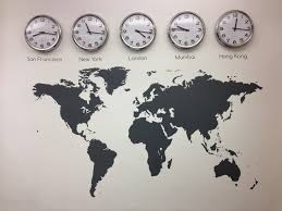 office clocks. Wall Clock For Office. Marvellous Time Zone Labels Silver Round Analog With Office Clocks E