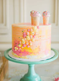 Pastel Ice Cream Themed Birthday Party Inspired By This