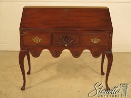 details about 28731e baker collector s edition colonial mahogany slant front desk