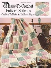 By Darla Sims 63 Easy-To-Crochet Pattern Stitches Combine To Make An  Heirloom Afghan (Leisure Arts #555): Amazon.com: Books