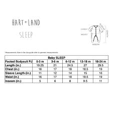 Hart Land Baby Toddler Pima Cotton Footed Bodysuit Pj Unicorn Tapestry