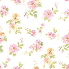 Chesapeake Captiva Pink <b>Watercolor Floral</b> Wallpaper - Pink <b>Floral</b> ...