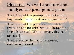 response to literature essay ppt response to literature essay 2 objective