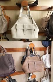 Wooden Hook Handbag Rack Storage