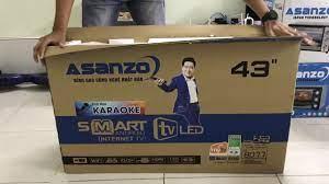 Nguyễn Quang mở hộp Tivi Asanzo Smart 43 inch model 43ES910, ES980 giá tốt  nhất - YouTube