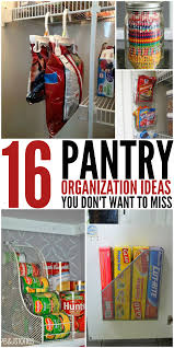 Organizing Kitchen Pantry 16 Pantry Organization Ideas That Your Kitchen Will Love