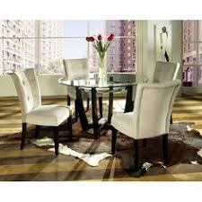 steve silver matinee 5 piece gl dining table set contemporary design gets a little cozy in the steve silver matinee 5 pc