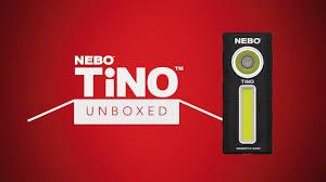Nebo Tino Work Light Nebo Unboxed Tino The 2 In 1 Spot Light Work Light