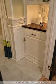 bathroom built in linen cabinets. bathroom remodel - original linen closet replaced with lower cabinet open shelves above built in cabinets p