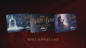 get limited edition beauty and the beast gift cards now cinemark