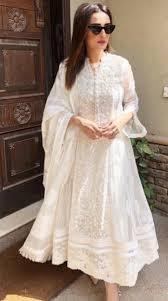White Designer Outfits Divine White Pakistani Dress Design Indian Designer