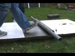 sheet metal roll diy rolling sheet metal for vawt 1st in series youtube