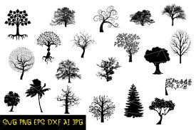 Available source files and icon fonts for both personal and commercial use. Download Christmas Tree Svg Silhouette Available Formats Svg Png Dxf Eps Compatible With Cricut Silhouette More