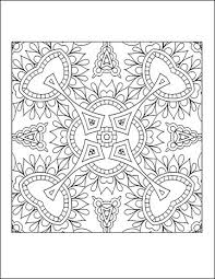 The first is labeled download which will prompt you to download the pdf version of this coloring. Free Printable Geometric Coloring Pages For Adults