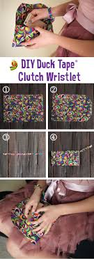 DIY duct tape clutch wristlet for prom! Make your prom outfit out of Duck  Tape