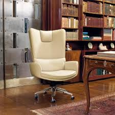 luxury leather office chair. leather office armchair splendour by mascheroni luxury chair