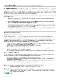 Leadership Resume Unique Team Leader Resume Example Resume