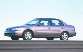 2000 Toyota Corolla - Information and photos - ZombieDrive