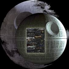 death star size huge size comparison chart of just about every sci fi spaceship you