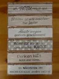 Hänger Schild Metall Eisen Lackiert Spruch Sprüche 26 X 6 Cm Retro