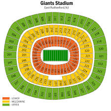 New York Jets Seating Chart New York Jets Football Eseats Com