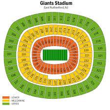 Ny Jets Stadium Seating Chart New York Jets Football Eseats Com