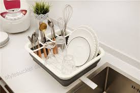 multifunction kitchen plate bowl dish rack storage holder sink shelf organizer kitchen accessory stackable plate dish