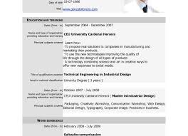 Model Resume Sample For Study Actor Template Modeling Resumes