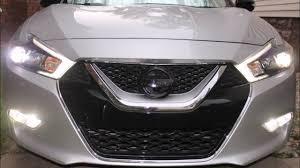 2017 Nissan Altima Led Fog Lights 2016 Nissan Maxima Led Fog Lights Youtube