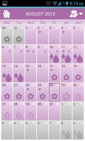 Menstrual Cycle Calendar Woman Log