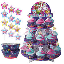 Shopkins Cupcake Kit For 24 Shopkins Party Supplies Party City