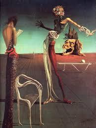 Картины Сальвадора Дали творчество Сальвадора Дали сюрреализм Сальвадор Дали картина Женщина с головой из роз 1935 стиль сюрреализм