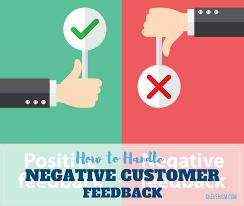 Orientation Feedback Form Mesmerizing How To Handle Negative Customer Feedback
