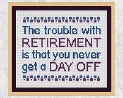 Cross Stitch Chart Generator Retirement Cross Stitch Pattern Funny Cross Stitch Quote
