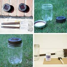 diy lighting mason jars. diy mason jar solar light lighting jars