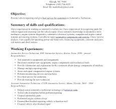Service Technician Resume Sample Digiart
