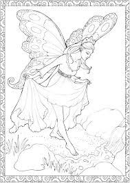 Fairies Coloring Pages Fairy Printable Coloring Pages Fairy