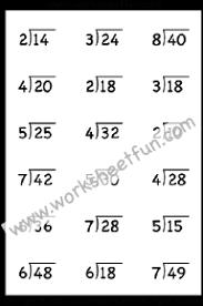 Division Free Printable Worksheets Worksheetfun