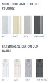 integral blind colours slider colours