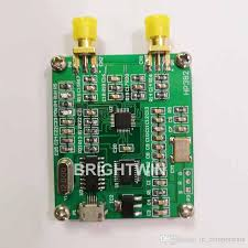 small size 140mhz to 4 4ghz rf signal generator module sine wave signal output rf frequency sweep generator rf signal generator rf generator frequency sweep