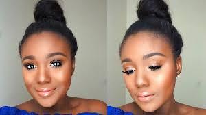Simple Everyday Summer Makeup Tutorial Sweat Proof Makeup Tips.