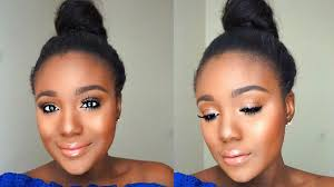 simple everyday summer makeup tutorial sweat proof makeup tips for black women you