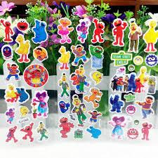 Sesame Street Bedroom Decorations Online Get Cheap Sesame Street Stickers Aliexpresscom Alibaba