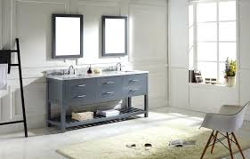gray bathroom with white cabinets. appealing white double sink bathroom vanity cabinets modern gray vanities with b