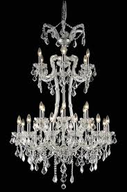 maria theresa chrome gold golden teak black or white crystal chandelier with lead or european crystals sku 36711