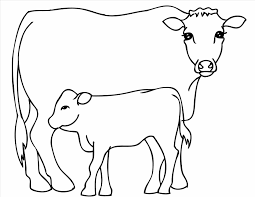 Small Picture Coloring Pages Free Printable Cow Coloring Page Free Printable